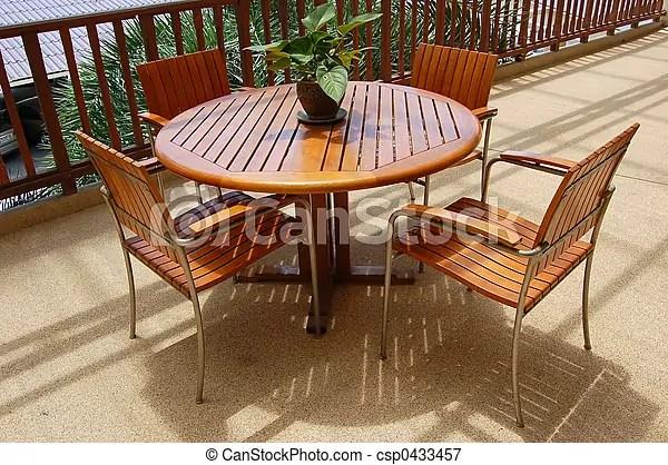 veranda meubles