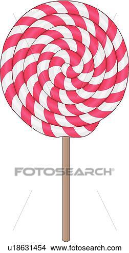 Clipart - lutscher. fotosearch  - suche clipart,  illustration poster,  zeichnungen und  vector eps grafische  bilder