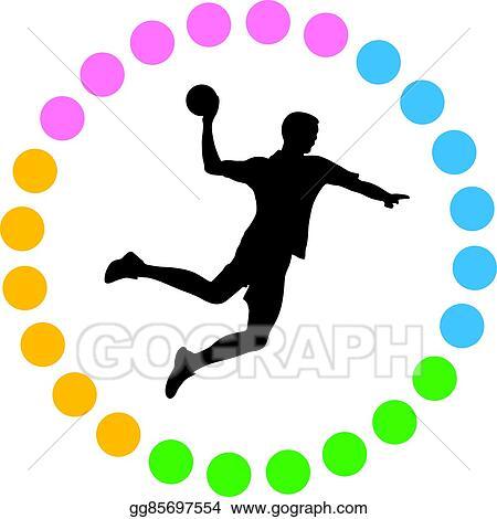 handball eps clipart gg85697554 gograph