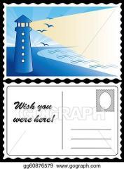 Image result for postcard clip art