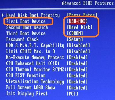 Do not install windows 7 on asus laptop  Which section to