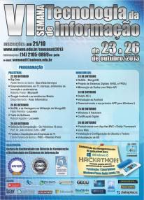 VI Semana de Tecnologia da Informação