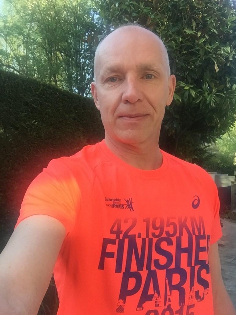 Michel Bohdanowicz marathonien