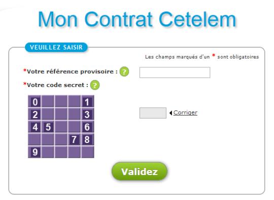 accès à mon contrat Cetelem
