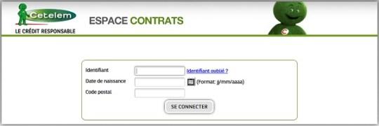 signature en ligne de contrat crédit cetelem