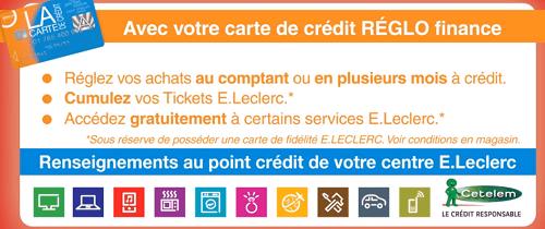Mon Compte Reglo Finance Acces Banque Edel Leclerc