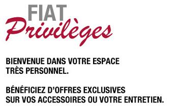 connexion espace client Fiat Privilèges