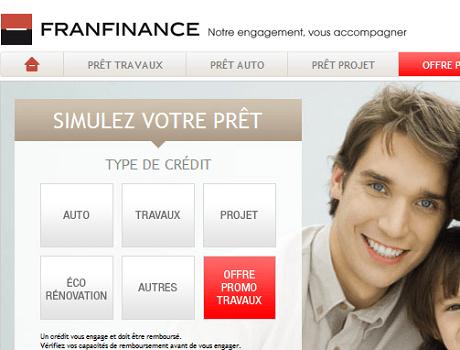 simulation de crédit franfinance