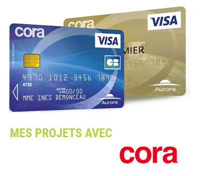 Carte de crédit Cora