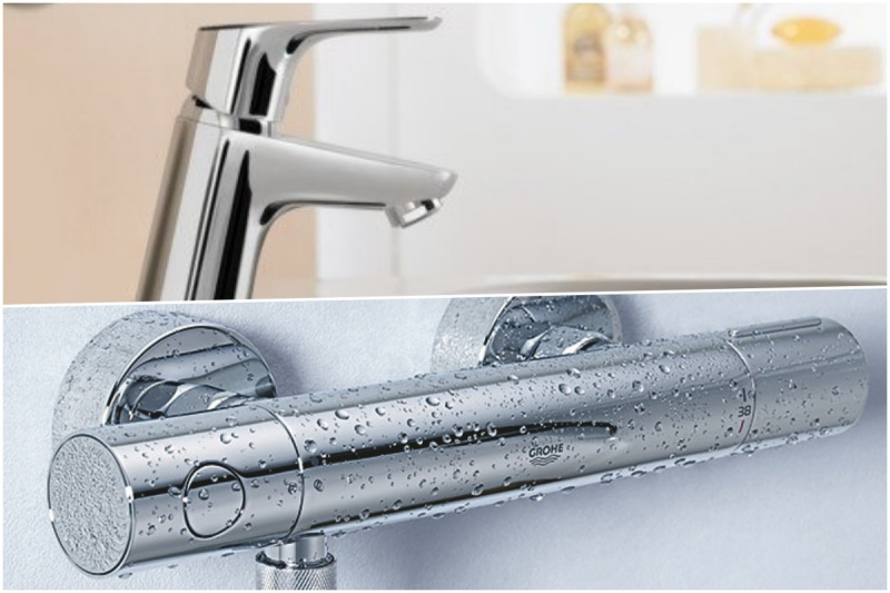 grohe hansgrohe les grandes marques