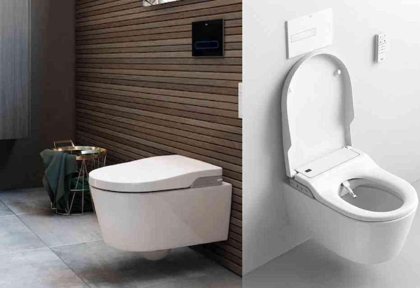 wc japonais lavant suspendu in wash inspira roca