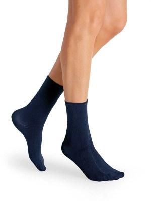 Mi-chaussettes pour diabétiques