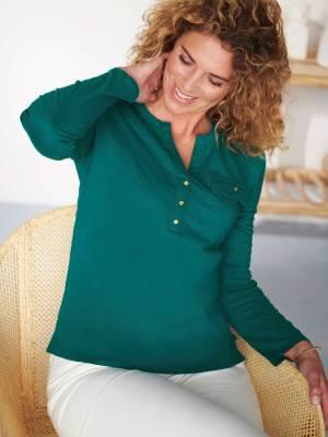 Le tee-shirt tunisien vert