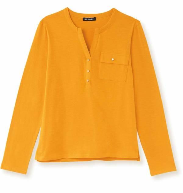 Le tee-shirt tunisien jaune