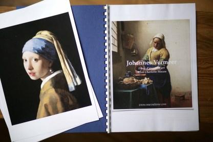 Johannes Vermeer étude peintre