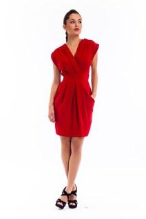 Robe Rosie rouge Heroines 169€