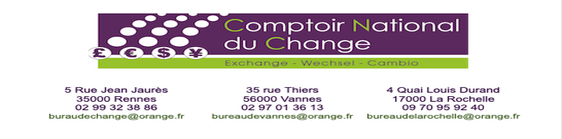 bureau de change vannes 02 97 01 36 13 bureau de change rennes 02 99 32