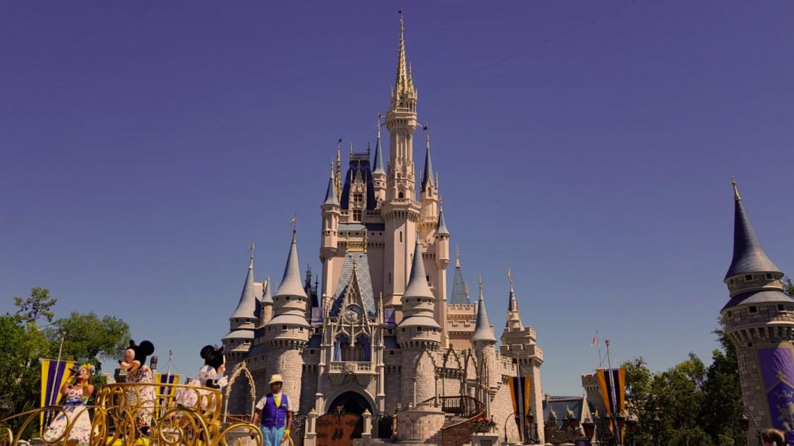 Château de la Belle au bois dormant, Disneyworld Orlando, Floride, USA - photo A.Compain