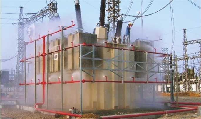 Water Curtain Fire Protection