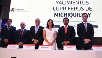 Southern Cooper se adjudica la buena pro del proyecto cuprifero Michiquillay