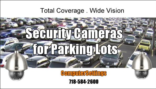 Security Camera Installation For Parking Lots