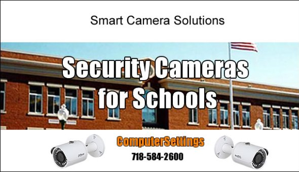 Security Camera Installation Service for Schools