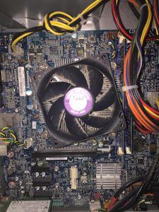 Before Internal Heat Sink Processor Fan Cleaning