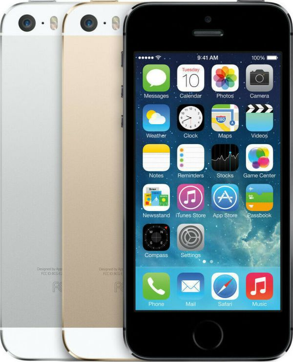 Apple iPhone 5s 16GB Silver GSM Unlocked A1533 4
