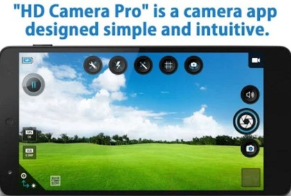 hd camera pro android app banner