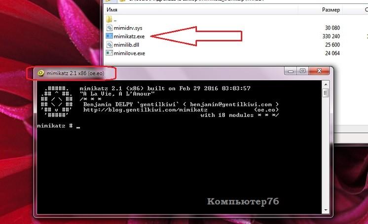пароли windows в виде текста