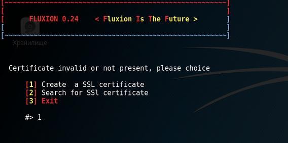 создание сертификата безопасности