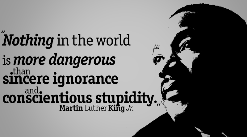 Computer America Observes Martin Luther King Jr. Day.