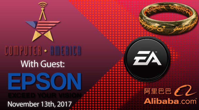 Epson Interview, EA Micro-Transaction, LoTR TV Series, Alibaba $25 Billion Sales