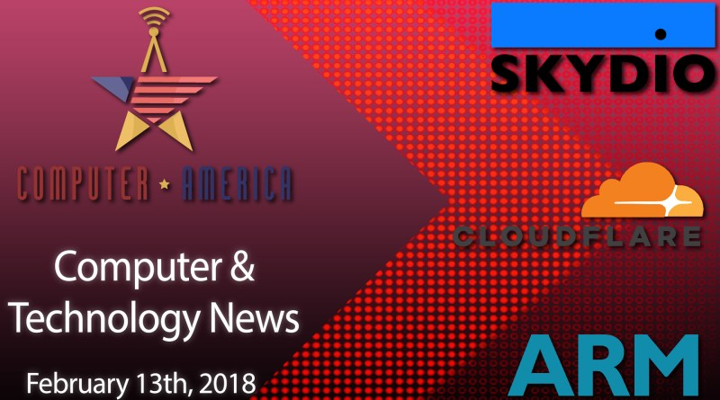 Computer/Tech News, Talking Skydio Drones, Patent Trolls, ARM Processors