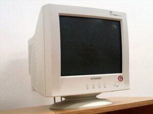 CRT Monitor Image