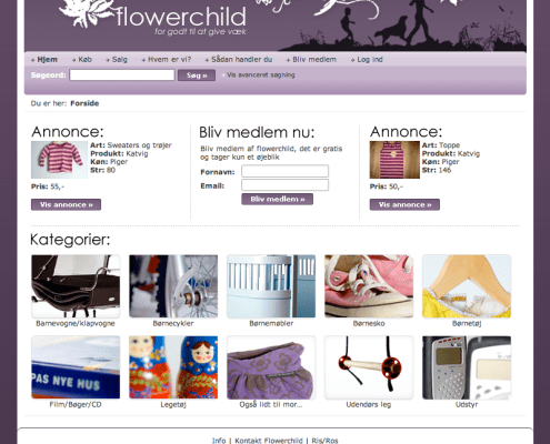 flowerchild website