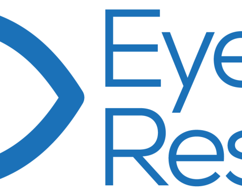 Eye Rescue logo design visual identity charity website