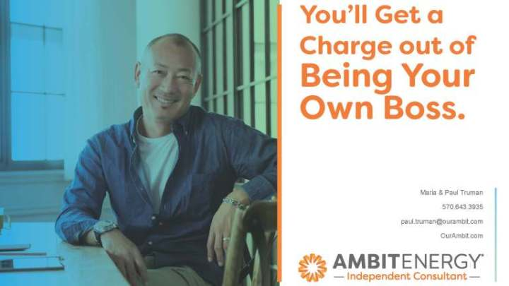 Our Ambit Energy Business Presentation Invite