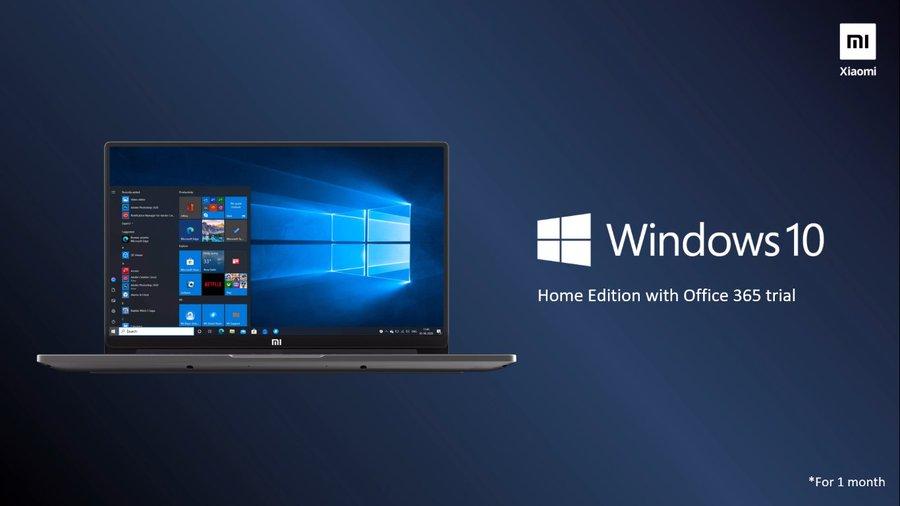 Mi Notebook 14 Horizon Edition OS
