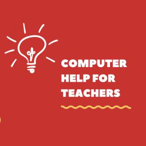 Teacher training for technology