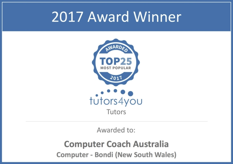 Tutor services award