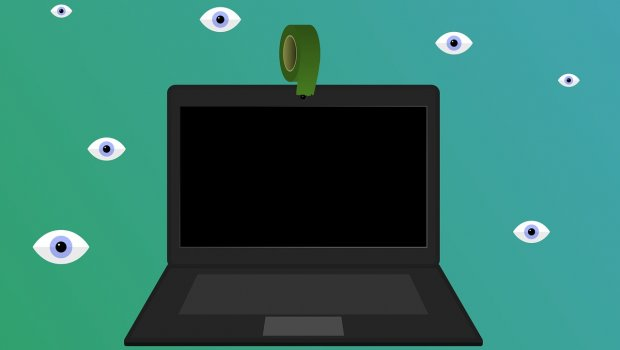 prevent being watched over laptop camera