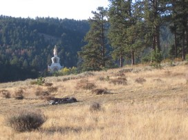 Approaching Great Stupa