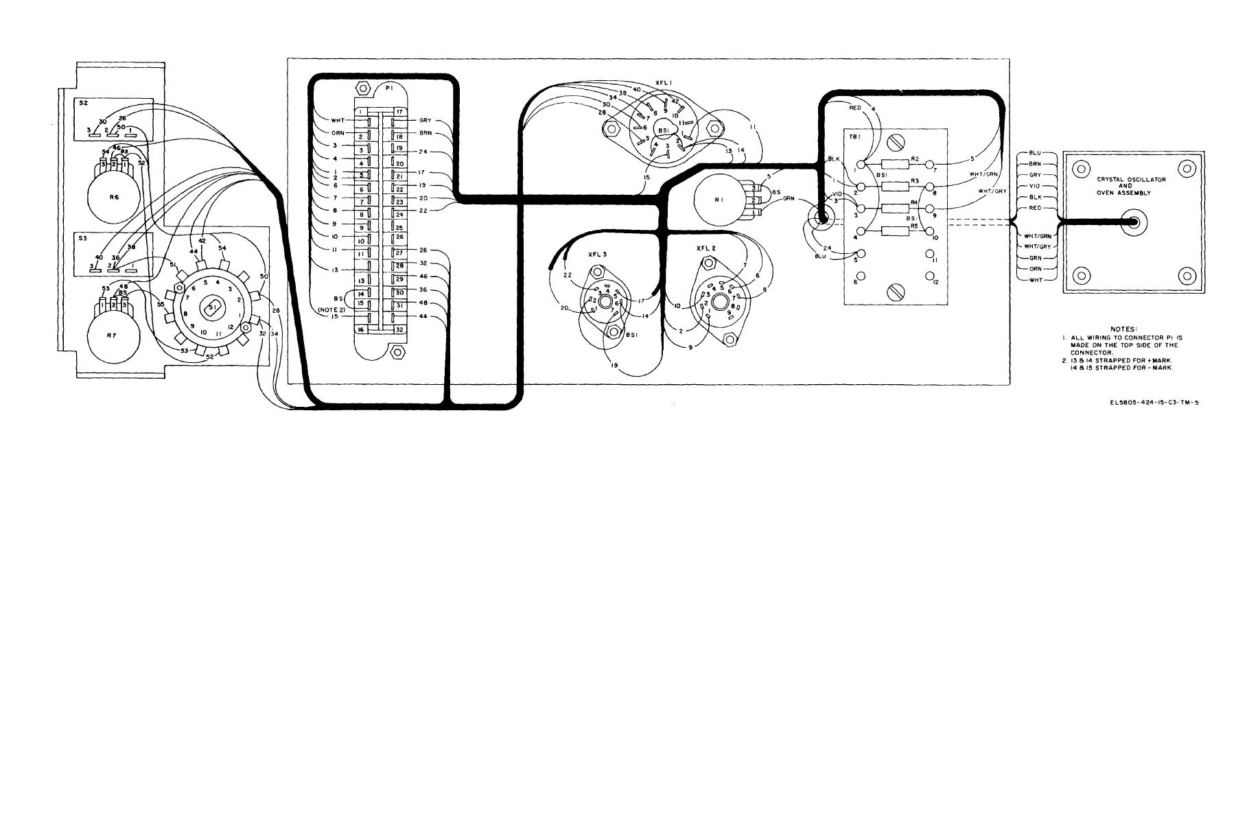 Figure 6 45 Plug In Module Subassembly Mx G Wiring