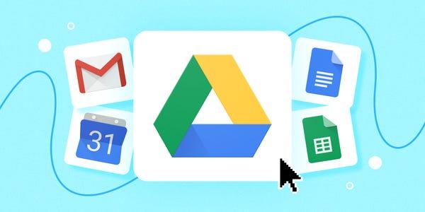 مواقع التخزين السحابي - Google Drive