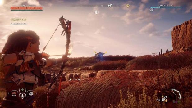 أفضل ألعاب بلاي ستيشن 4 2020 - Horizon Zero Dawn