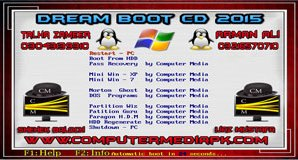Dream Boot CD 2015 By Computer Media Corporaton