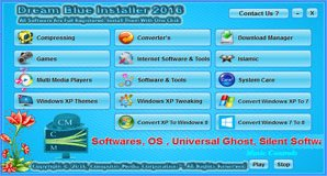 Dream Blue Installer 2016 By C.M Team
