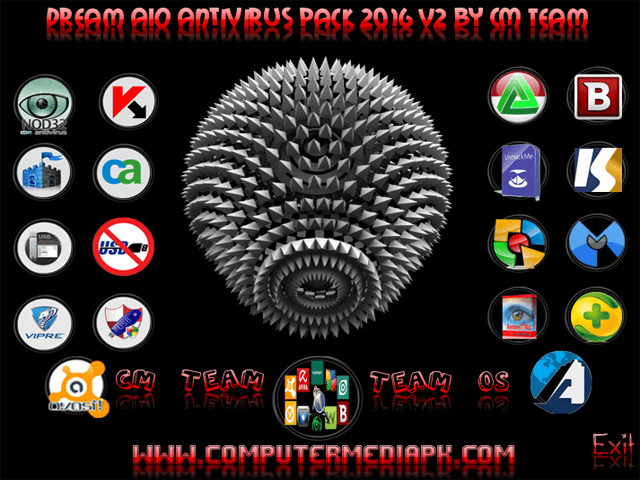 Dream AIO Antivirus Pack 2016 v2