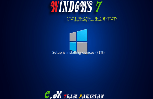 Windows 7 College Edition Lite Install Setup 64 Bit By C.M Team (4)
